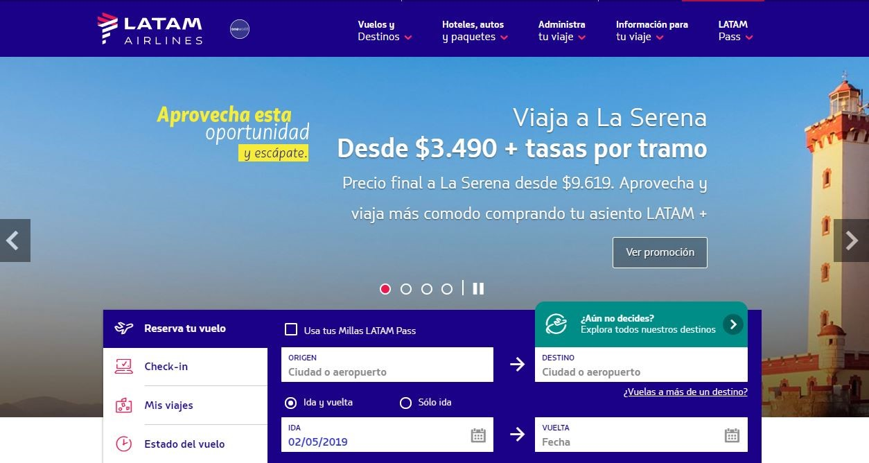 Números De Contacto De Latam Airlines