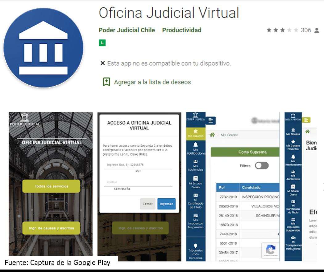 App Para Seguimiento De Causas Judiciales